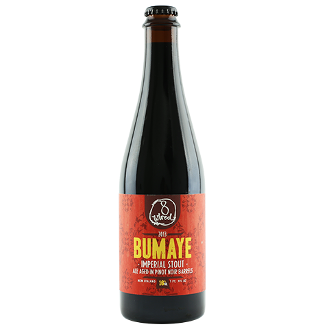 8 Wired Bumaye Imperial Stout Aged in Pinot Noir Barrels