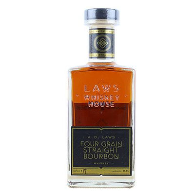 A.D. Laws Four Grain Straight Bourbon Whiskey