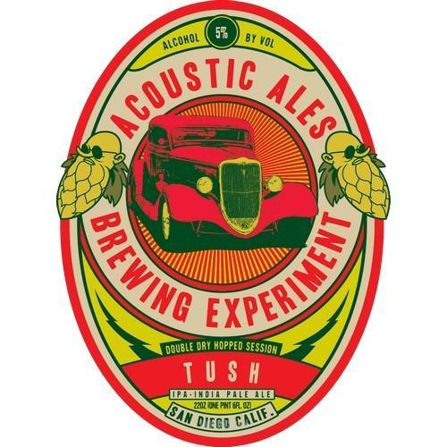 Acoustic Tush Double Dry Hopped Session IPA