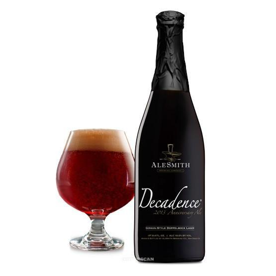 AleSmith Decadence 2014 Wheat Wine