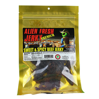 Alien Fresh Sweet & Spicy Beef Jerky
