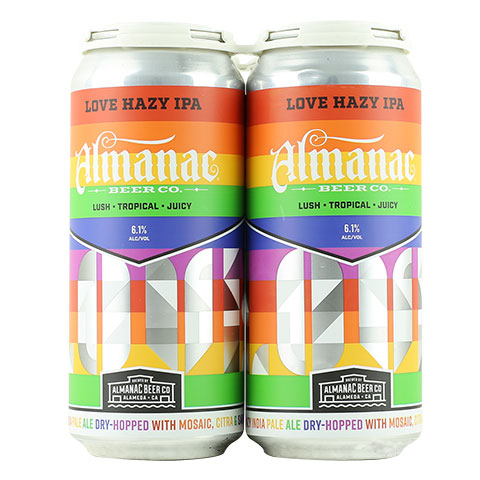 Almanac Love Hazy IPA: Pride Edition