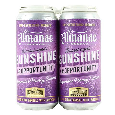 Almanac Sunshine & Opportunity: Lavender Honey Edition