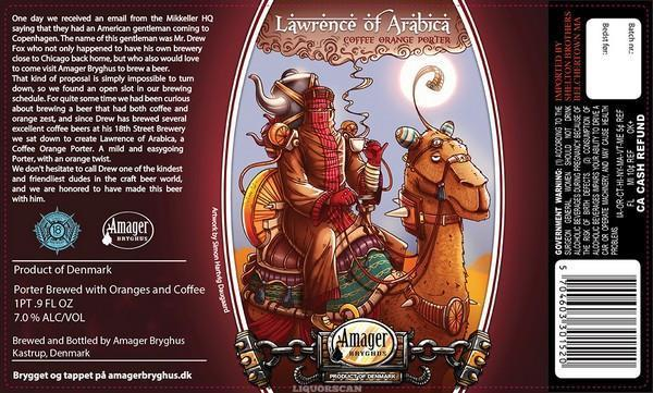 Amager / 18th Street Lawrence of Arabica Coffee Orange Porter