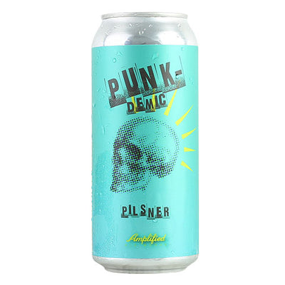 Amplified Ale Works Punk-Demic Pilsner