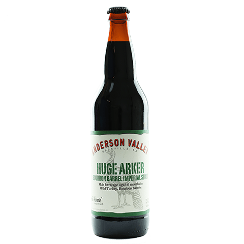 Anderson Valley Huge Arker Bourbon Barrel Aged Imperial Stout