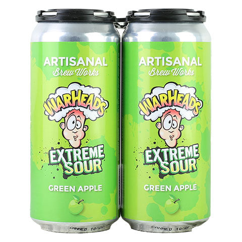 Artisanal Brew Works Warhead Green Apple Sour