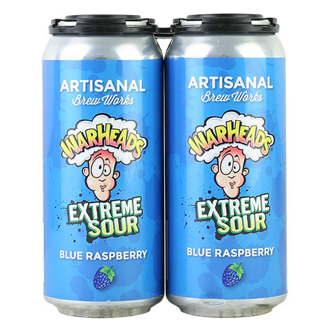 Artisanal Brew Works Warheads Blue Raspberry Sour Ale
