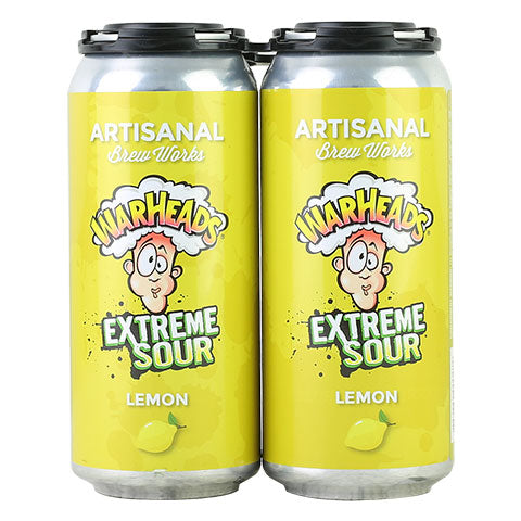 Artisanal Brew Works Warheads Lemon Sour Ale