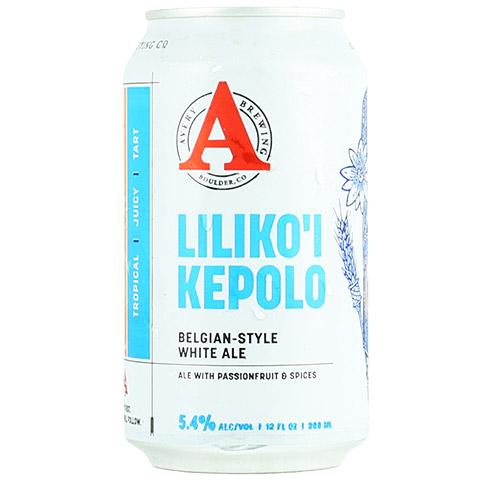 Avery Liliko'i Kepolo Passionfruit Witbier