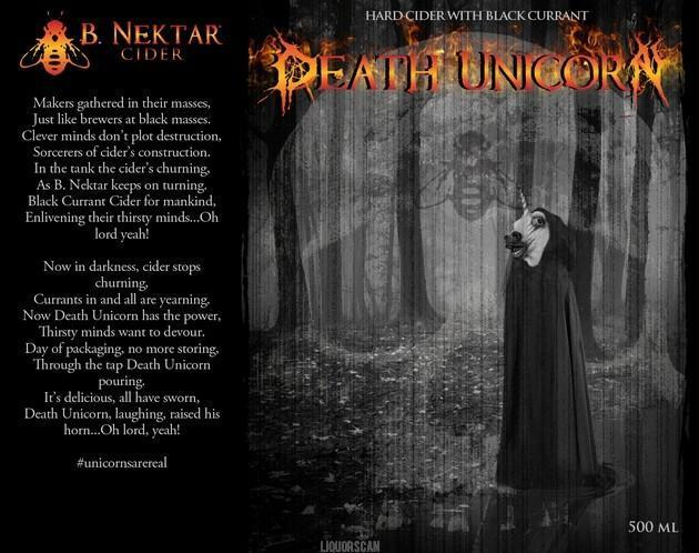 B. Nektar Death Unicorn Cider