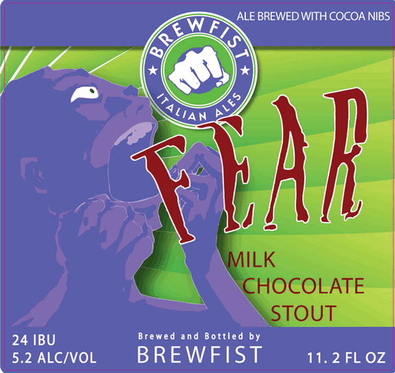 Brewfist Fear Milk Chocolate Stout