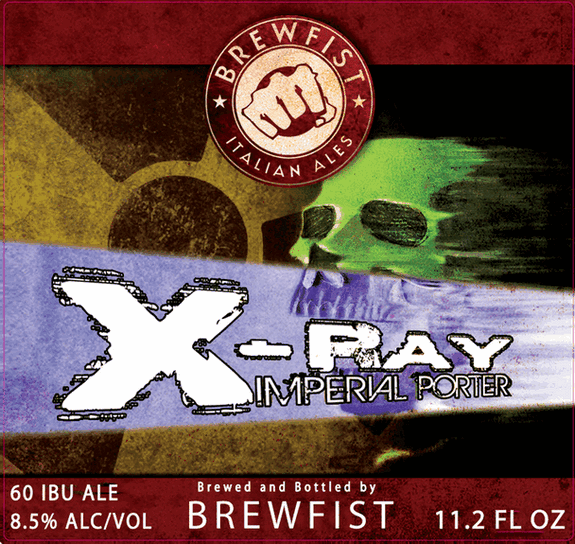 BREWFIST X-Ray Imperial Porter