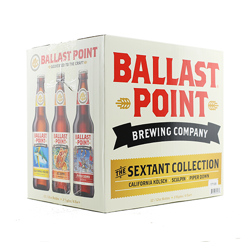 Ballast Point The Sextant Selection Variety Pack