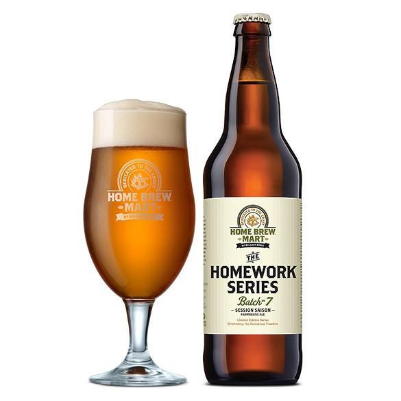 Ballast Point The Homework Series Batch #7 Session Saison