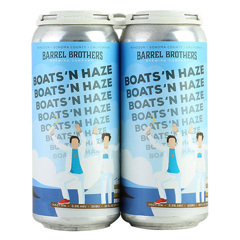 Barrel Brothers Boats 'N Haze Hazy IPA