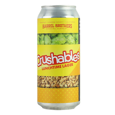 Barrel Brothers Crushables Lunchtime Lager