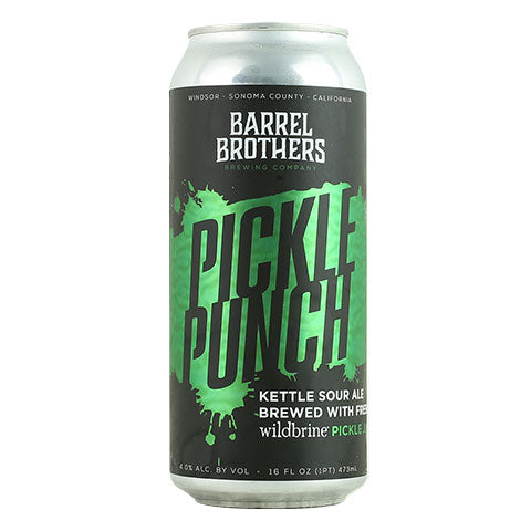 Barrel Brothers Pickle Punch Sour Ale