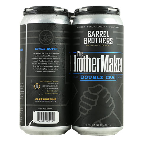 Barrel Brothers The Brother Maker Double IPA