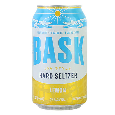 Bask Lemon Hard Seltzer