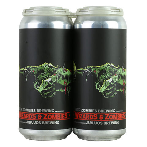 Beer Zombies / Brujos Wizards and Zombies Triple Hazy IPA