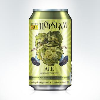 Bell's Hopslam Ale 12oz can / Two Hearted Ale 16oz can 2PK