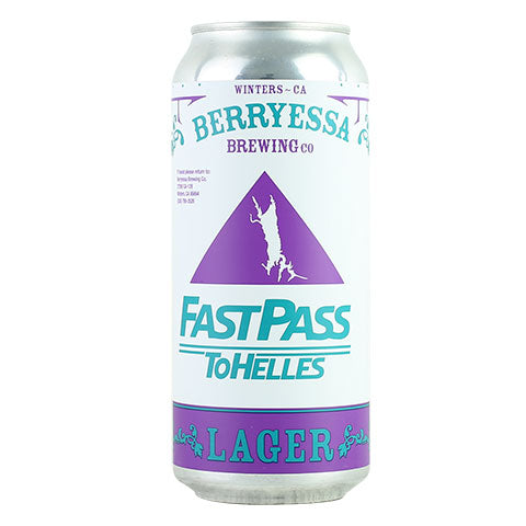 Berryessa Fast Pass to Helles Lager