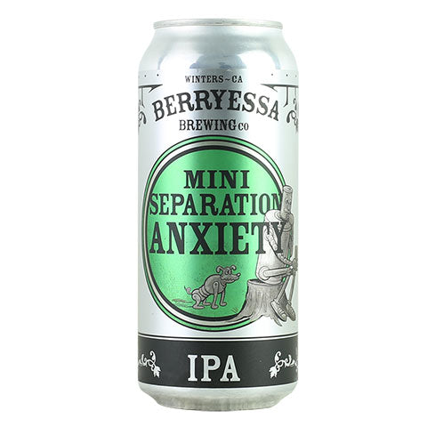 Berryessa Mini Separation Anxiety IPA
