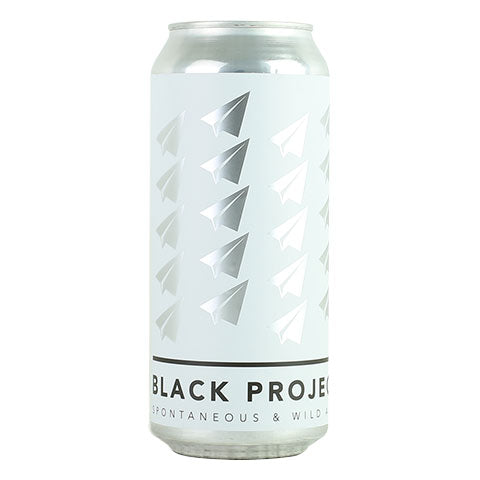 Black Project Top Secret Hard Seltzer