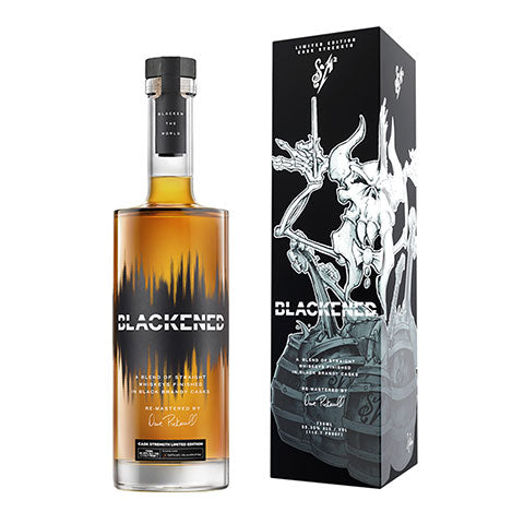 Blackened S&M2 American Metallica Whiskey Limited Edition