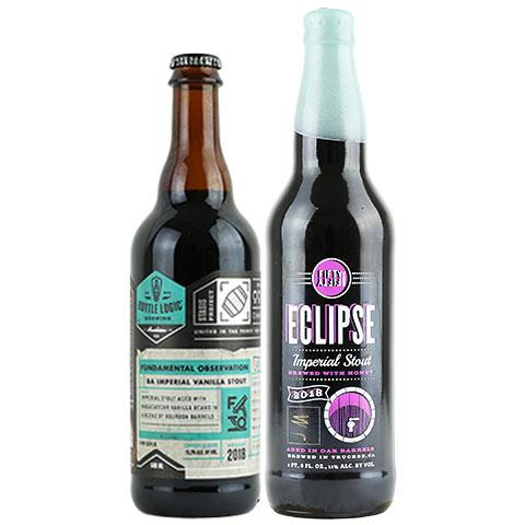 Bottle Logic Fundamental Observation / Eclipse Joseph Magnus Imperial Stout 2 Pack