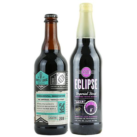 Bottle Logic Fundamental Observation / Eclipse Maple Imperial Stout 2 Pack