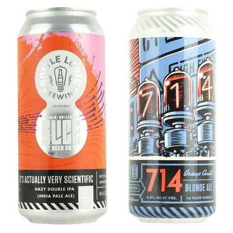Bottle Logic / Slice It's Actually Very Scientific Hazy IPA and 714 Blonde 2PK