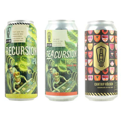 Bottle Logic Teacursion IPA 3PK