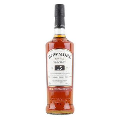Bowmore 15 Year Old Single Malt Scotch Whisky