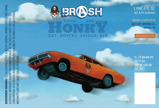 Brash Cold Ass Honky Dry-Hopped Saison