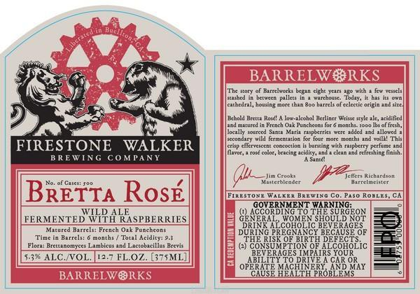 Firestone Walker Bretta Rose Variety 6PK