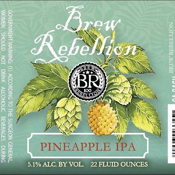 Brew Rebellion Pineapple IPA