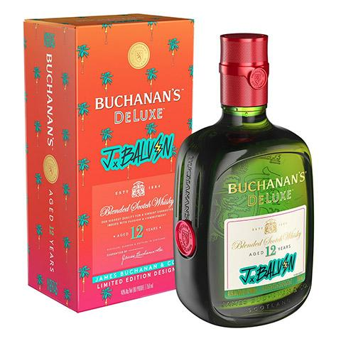 Buchanans Deluxe Jbalvin 12 Years Blended Scotch Whisky
