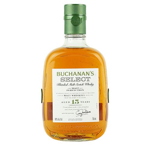 Buchanan's Select 15-Years Blended Malt Scotch Whisky