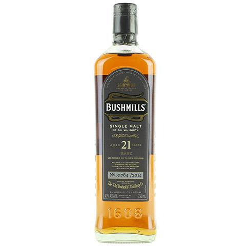bushmills-21-year-old-single-malt-whiskey