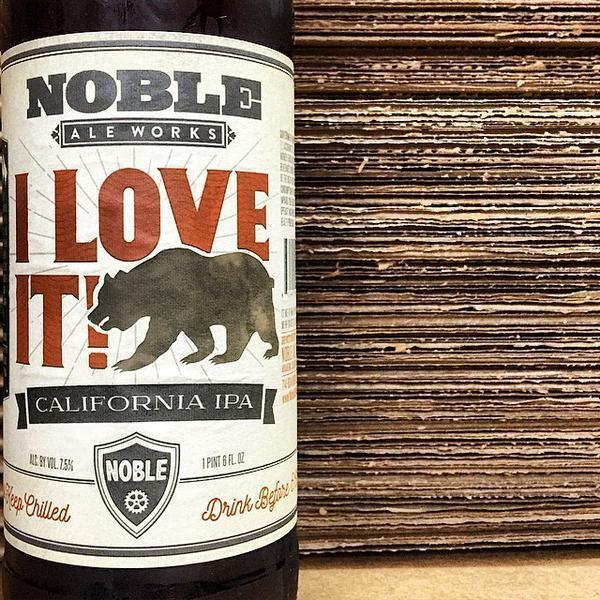 Noble Ale Works I Love It! IPA / Big Whig IPA 2PK