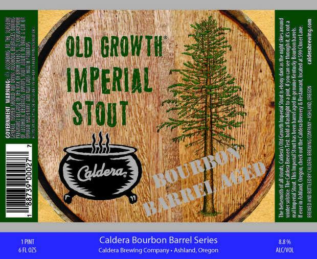 Caldera Bourbon Barrel Aged Old Growth Imperial Stout