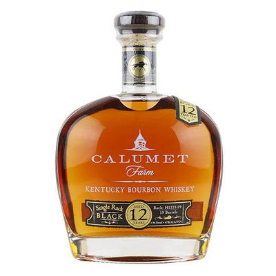 Calumet Farm 12 Year Old Single Rack Black Bourbon Whiskey