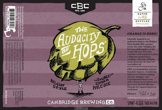 Cambridge The Audacity of Hops Belgian Double IPA