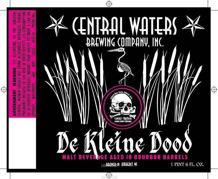 Central Waters Local Option De Kleine Dood Barrel Aged Weizenbock