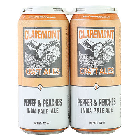 Claremont Craft Ales Pepper & Peaches IPA