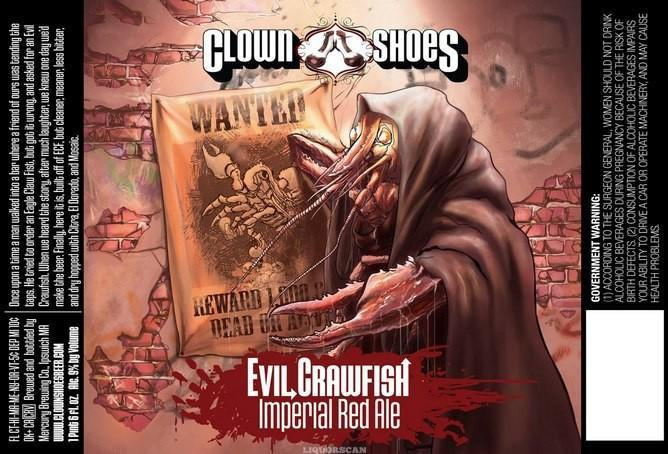 Clown Shoes Evil Crawfish Imperial Red Ale