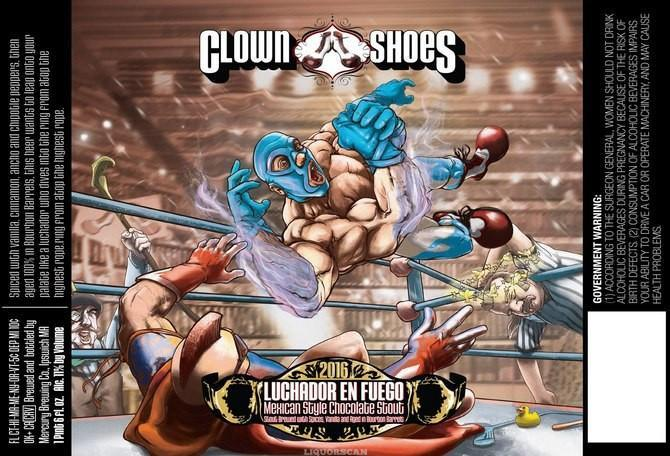 Clown Shoes Luchador En Fuego Barrel-Aged Imperial Mexican Chocolate Stout