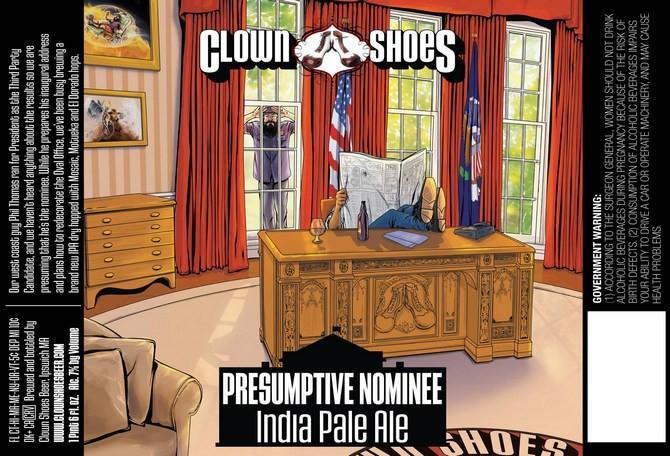 Clown Shoes Presumptive Nominee IPA
